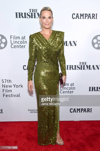 Model Molly Sims attends The Irishman screening during the 57th New York Film Festival at Alice Tully Hall Lincoln Center on September 27 2019 in New...