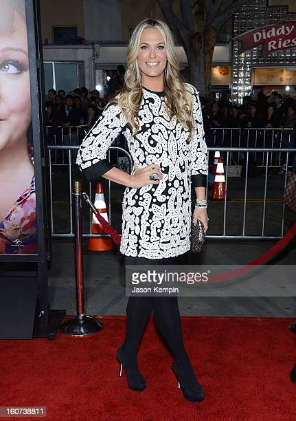 Model Molly Sims attends the Premiere Of Universal Pictures' Identity Thief on February 4 2013 in Westwood California