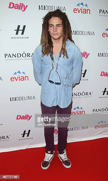 Model Morgan O'Connor attends The Daily Modelinia Present The Models Issue Party at Harlow on February 7 2014 in New York City