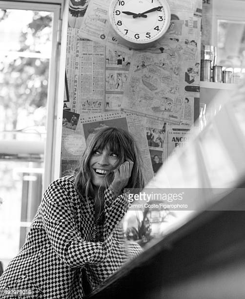 Model music producer and actress Caroline de Maigret is photographed for Madame Figaro on July 9 2015 in Paris France Coat PUBLISHED IMAGE CREDIT...