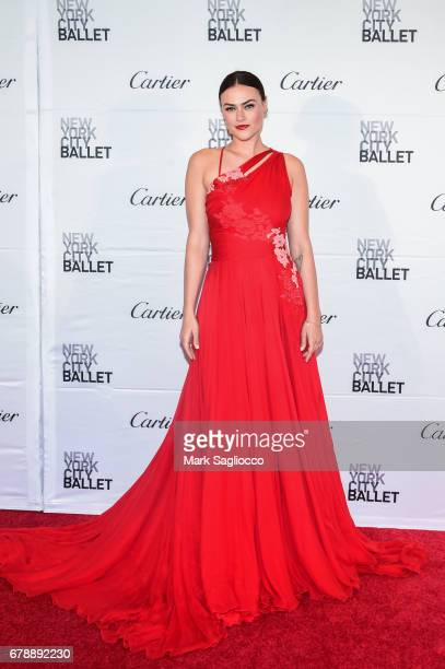 Model Myla Dalbesio attends the New York City Ballet 2017 Spring Gala at the David H Koch Theater at Lincoln Center on May 4 2017 in New York City