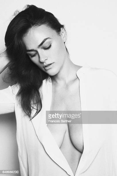 Model Myla Dalbesio is photographed for Self Assignment on January 13 2017 in Paris France