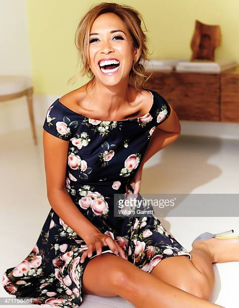 Model Myleene Klass is photographed a fashion shoot for Littlewoods on July 29 2014 in London England