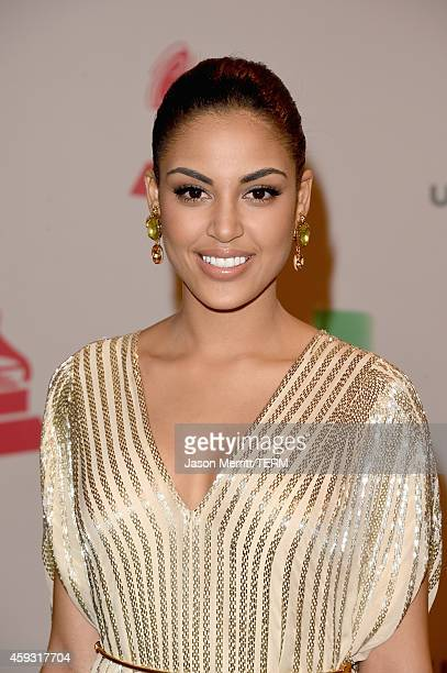 Model Nabila Tapia attends the 15th Annual Latin GRAMMY Awards at the MGM Grand Garden Arena on November 20 2014 in Las Vegas Nevada