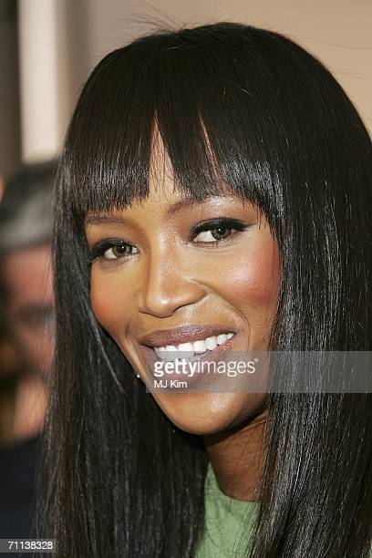 Model Naomi Campbell arrives at the Glamour Women Of The Year Awards the annual awards recognising the achievement of women with categories including...