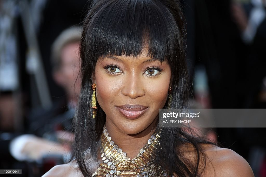 US model Naomi Campbell arrives for the screening of 'Biutiful' presented in competition at the 63rd Cannes Film Festival on May 17, 2010 in Cannes.