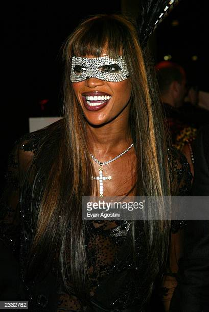 Model Naomi Campbell at Dolce Gabbana's Halloween Party at Cipriani 42nd Street in New York City October 31 2002 Photo by Evan Agostini/ImageDirect