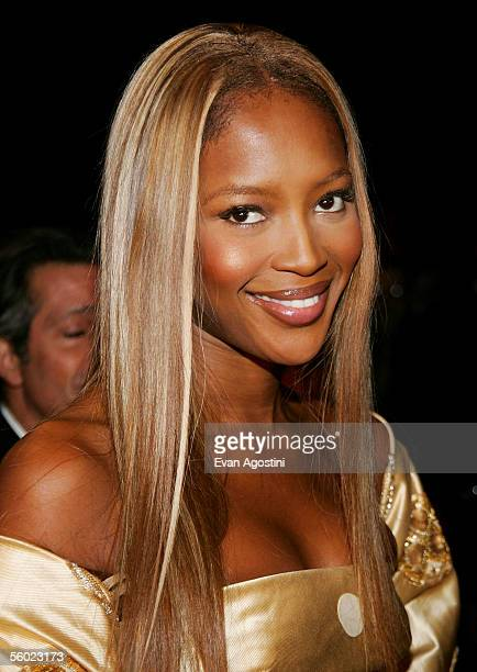 Model Naomi Campbell attends Fashion Group International's 22nd Annual 'Night Of Stars' at Cipriani's 42nd Street October 27 2005 in New York City