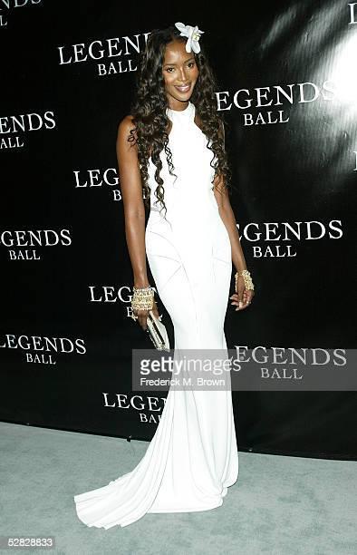 Model Naomi Campbell attends Oprah Winfrey's Legends Ball at the Bacara Resort and Spa on May 14 2005 in Santa Barbara California