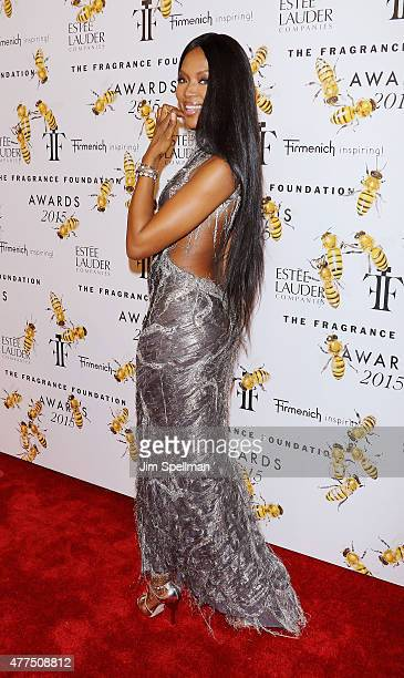 Model Naomi Campbell attends the 2015 Fragrance Foundation Awards at Alice Tully Hall at Lincoln Center on June 17 2015 in New York City