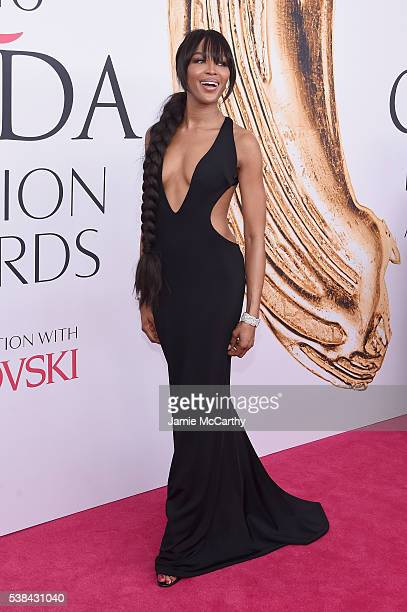 Model Naomi Campbell attends the 2016 CFDA Fashion Awards at the Hammerstein Ballroom on June 6 2016 in New York City