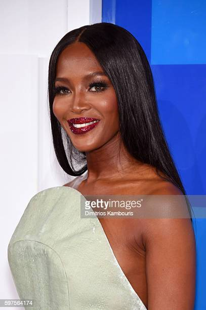 Model Naomi Campbell attends the 2016 MTV Video Music Awards at Madison Square Garden on August 28 2016 in New York City