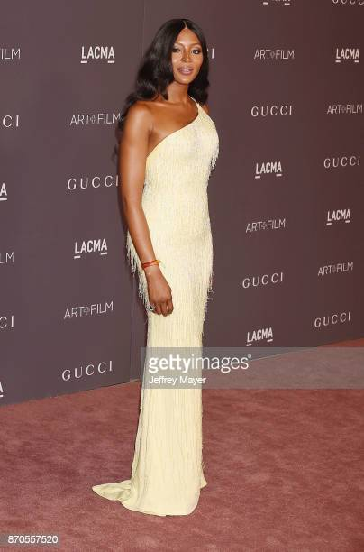 Model Naomi Campbell attends the 2017 LACMA Art + Film Gala Honoring Mark Bradford and George Lucas presented by Gucci at LACMA on November 4, 2017...
