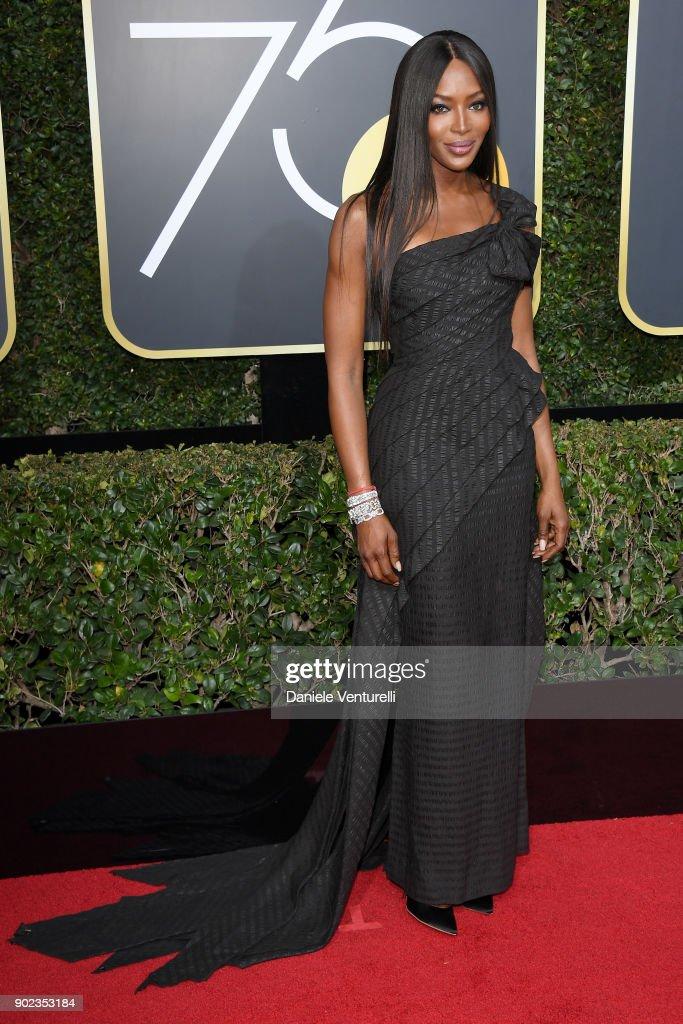 75th Annual Golden Globe Awards - Arrivals : Fotografía de noticias