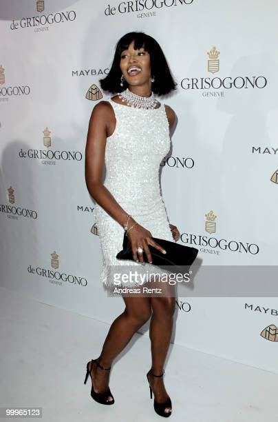 Model Naomi Campbell attends the de Grisogono party at the Hotel Du Cap on May 18, 2010 in Cap D'Antibes, France.