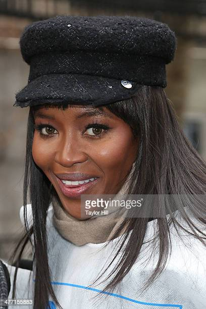 """Model Naomi Campbell attends the """"MARCH IN MARCH"""" to end violence against women in Dag Hammerskjold Plaza at the United Nations on March 7, 2014 in..."""