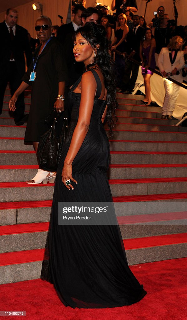 Model Naomi Campbell attends the Metropolitan Museum of Art's 2010 Costume Institute Ball at The Metropolitan Museum of Art on May 3, 2010 in New York City.