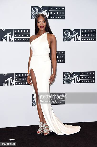 Model Naomi Campbell attends the Press Room at the 2016 MTV Video Music Awards at Madison Square Garden on August 28 2016 in New York City