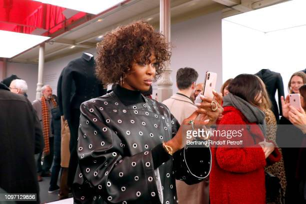 Model Naomi Campbell attends the Tribute To Azzedine Alaia as part of Paris Fashion Week on January 20 2019 in Paris France
