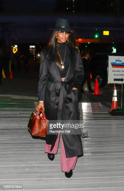 Model Naomi Campbell is seen on October 24 2018 in New York City
