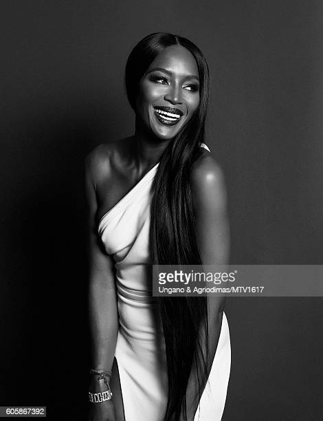 Model Naomi Campbell poses for a portrait at the 2016 MTV Video Music Awards at Madison Square Garden on August 28 2016 in New York City