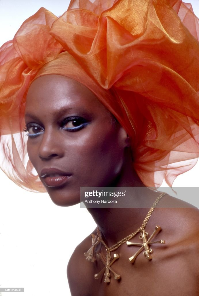 NEW YORK - 1975; Model Naomi Sims poses for a portrait session in 1975 in New York, New York.