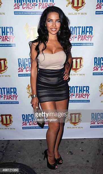 Model Nasia Jansen attends the Big Brother 16 Red Carpet Finale Party at Eleven NightClub on September 25 2014 in West Hollywood California