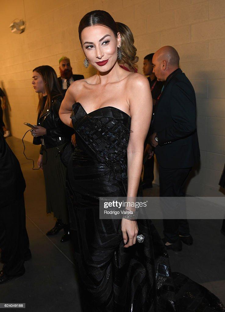 Model Nastassja Bolivar attends The 17th Annual Latin Grammy Awards at T-Mobile Arena on November 17, 2016 in Las Vegas, Nevada.