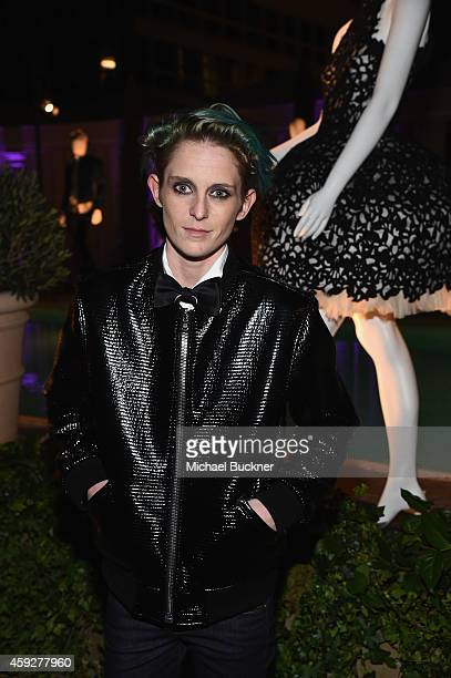 Model Natalia Getty attends the August Getty Atelier Dinner at the Montage Hotel Rooftop Grill on November 19 2014 in Beverly Hills California