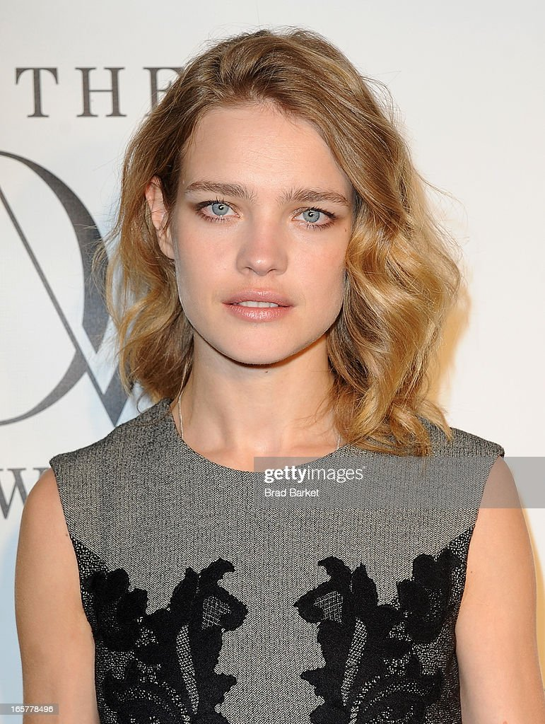 Model Natalia Vodianova attends 2013 DVF Awards at United Nations on April 5, 2013 in New York City.