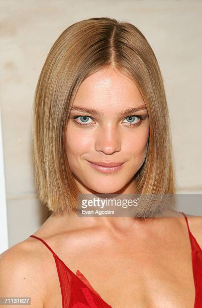 Model Natalia Vodianova backstage at the 2006 CFDA Awards ceremony at the New York Public Library June 5 2006 in New York City