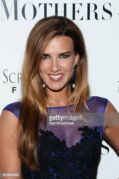 Model Natalie Burn attends the Los Angeles Premiere of Screen Media Film's 'Mothers And Daughters' at The London on April 28 2016 in West Hollywood...