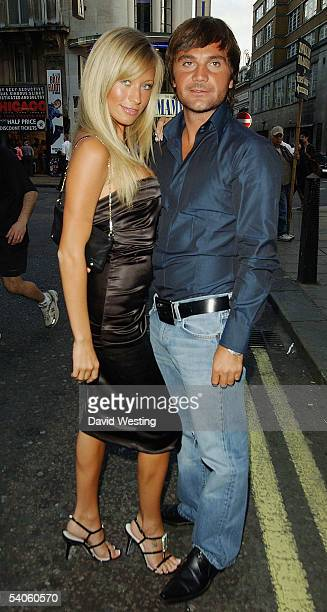Model Natalie Denning and guest attend The Business VIP Screening at the Rex Cinema and Bar on September 1 2005 in London England The VIP screening...