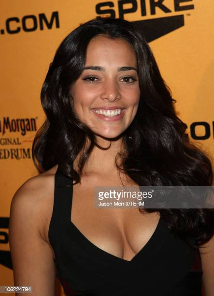Model Natalie Martinez attends the Spike TV's 2nd Annual Guys Choice Awards on May 30 2008 at the playboy mansion in Los Angeles California