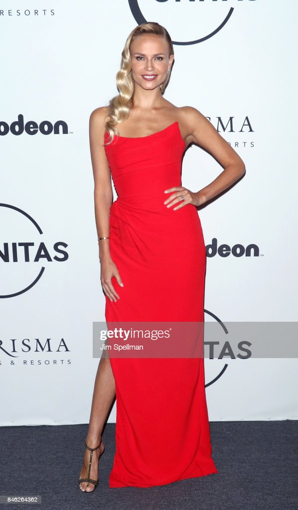 Model Natasha Poly attends the 2017 Unitas Gala at Capitale on September 12, 2017 in New York City.