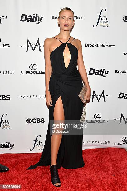 Model Natasha Poly attends the The Daily Front Row's 4th Annual Fashion Media Awards at Park Hyatt New York on September 8 2016 in New York City