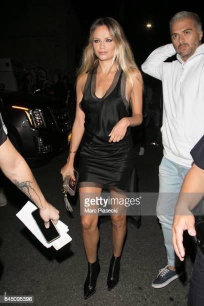 Model Natasha Poly is seen on September 9 2017 in New York City