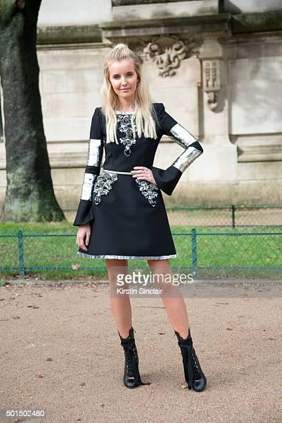 Model Nataya Kim on day 8 during Paris Fashion Week Spring/Summer 2016/17 on October 6 2015 in Paris France Nataya Kim