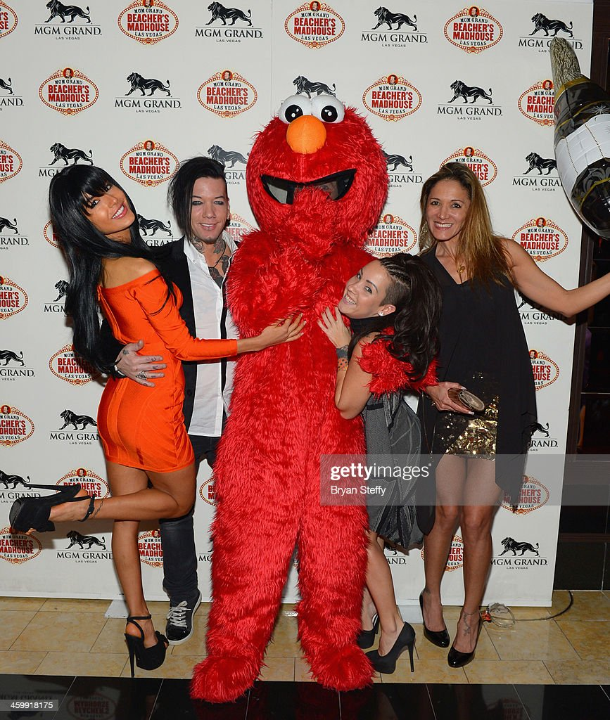 New Year's Eve 2014 Celebration At Beacher's Madhouse At MGM Grand Hotel & Casino : News Photo