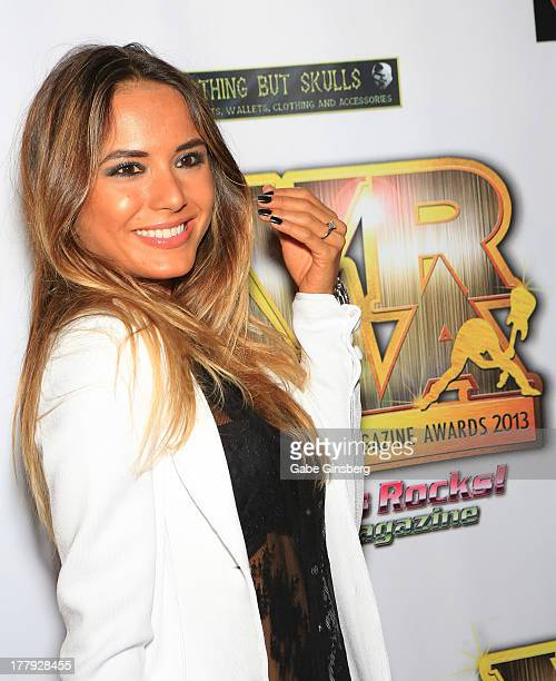 Model Nathalia Henao at the 2013 Vegas Rocks magazine music awards at The Joint inside the Hard Rock Hotel Casino on August 25 2013 in Las Vegas...