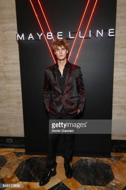 Model Neels Visser attends a night at the Maybelline Mansion presented by V on September 9 2017 in New York City