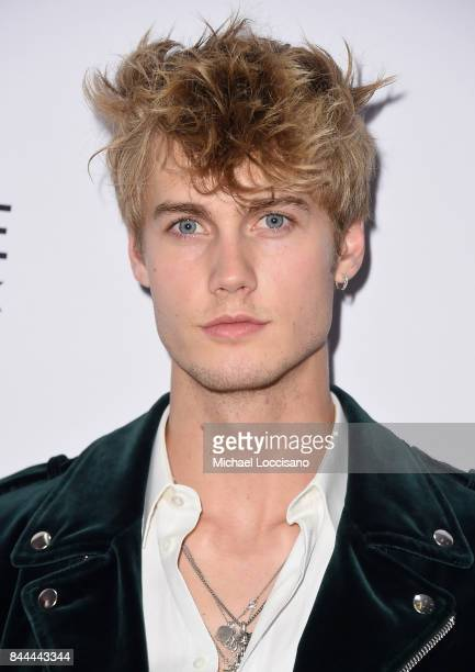 Model Neels Visser attends the Daily Front Row's Fashion Media Awards at Four Seasons Hotel New York Downtown on September 8 2017 in New York City