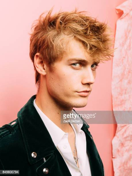 Model Neels Visser poses for a portrait during the Daily Front Row's Fashion Media Awards at Four Seasons Hotel New York Downtown on September 8 2017...
