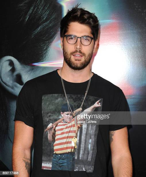 Model Nick Bateman attends the premiere of 'Flatliners' at The Theatre at Ace Hotel on September 27 2017 in Los Angeles California