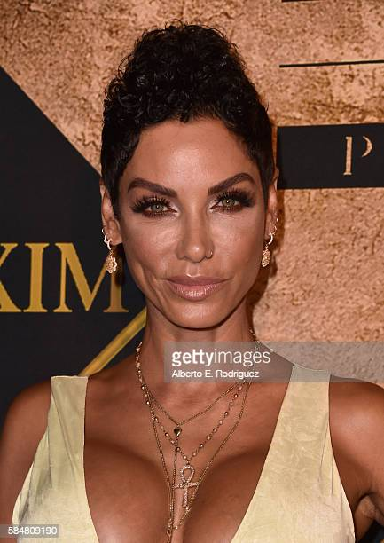 Model Nicole Mitchell Murphy attends the Maxim Hot 100 Party at the Hollywood Palladium on July 30 2016 in Los Angeles California