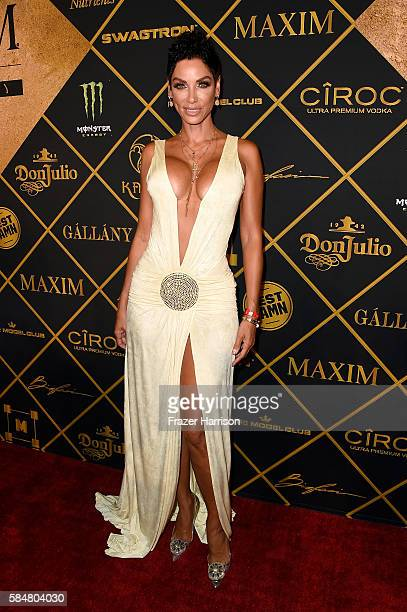 Model Nicole Murphy attends the 2016 MAXIM Hot 100 Party at the Hollywood Palladium on July 30, 2016 in Los Angeles, California.