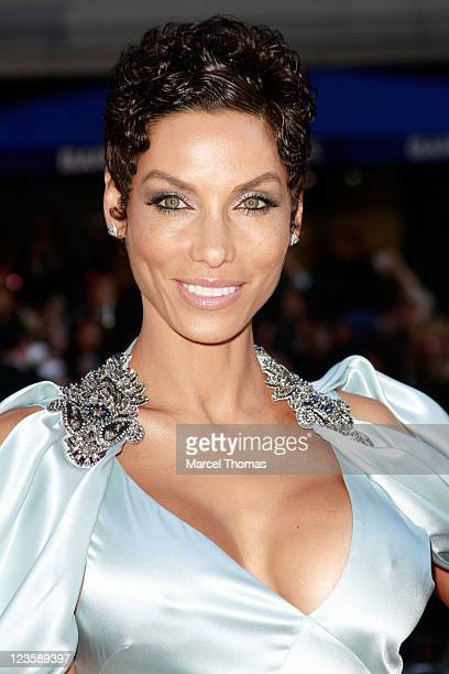 Model Nicole Murphy attends the 'Water For Elephants' premiere at the Ziegfeld Theatre on April 17 2011 in New York City