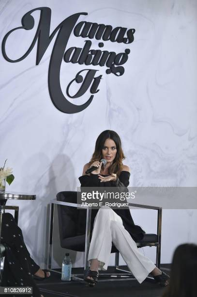 Model Nicole Trunfio attends the Mamas Making It Summit at W Hollywood on July 8 2017 in Hollywood California