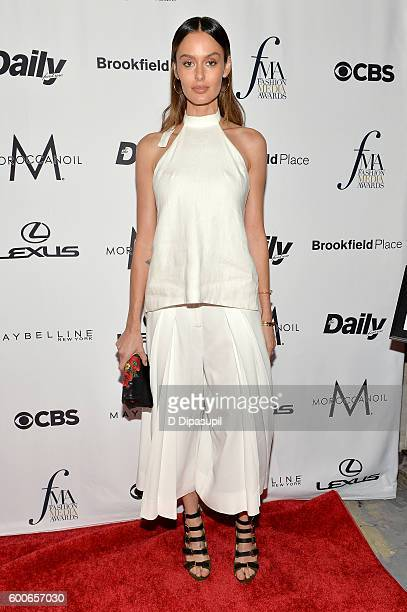 Model Nicole Trunfio attends the The Daily Front Row's 4th Annual Fashion Media Awards at Park Hyatt New York on September 8 2016 in New York City