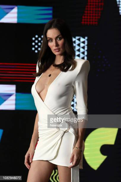 PERTH WA Model Nicole Trunfio poses during a photo shoot in Perth Western Australia